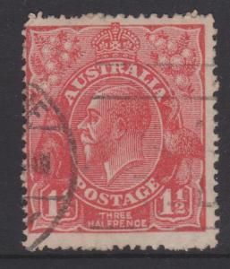 Australia KGV Sc#68c Used