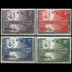 CONGO DR. 1963 - Scott# 468-71 Human Rights Set of 4 NH