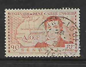SENEGAL,140, USED, COLONIAL EXPOSITION ISSUE