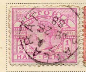 Victoria 1886-87 Early Issue Fine Used 1/2d. 326775