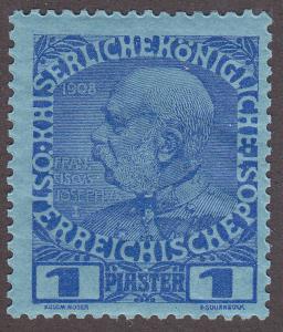 Austrian Offices in the Turkish Empire 49 Emperor Franz Josef 1908