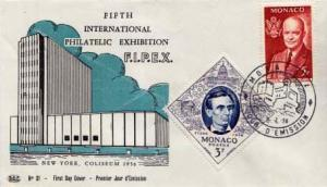 Monaco, First Day Cover