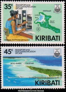Kiribati Scott 509-510 Mint never hinged.