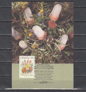 Australia, Scott cat. 1164. Flower Bouquet issue as a Maximum Card. ^