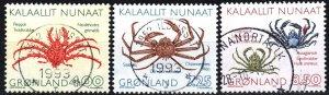 Greenland #256-8 F-VF Used CV $10.25  (X4182)