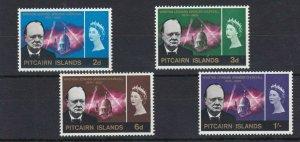 PN87) Pitcairn Islands 1966 Winston Churchill Memorial MUH
