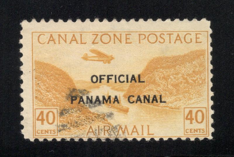 CZ#CO6 Air Post Official - Without Overprint, Postally Used