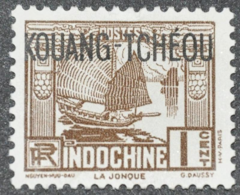 French Offices Abroad - Kwangchowan Scott #104 - UNUSED