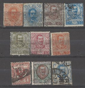 COLLECTION LOT # 5090 ITALY 10 STAMPS 1891+ CV+$20
