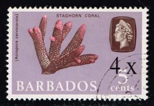 Barbados #327 Staghorn Coral; Used (0.50)