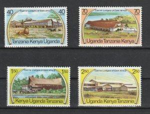 Kenya Uganda & Tanzania MNH 300-3 Game Lodges