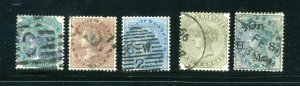 x388 - INDIA Small Lot of QV Classics. Used