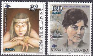 Bosnia & Herzegovina #240-1  MNH CV $3.50  Z613