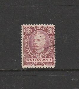 Sarawak 1895 2c Brown Red VFU/CTO SG 28