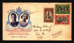Canada 1939 Royal Visit Cover / Light Creasing - Z16897