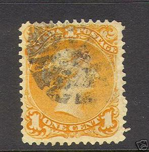 Canada #23 VF Used With Fancy Cancel