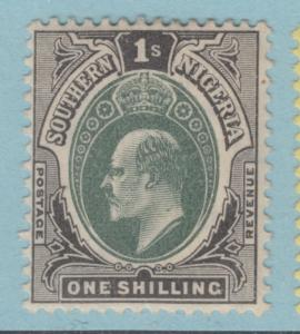 SOUTHERN NIGERIA 27A  MINT  HINGED OG *  NO FAULTS EXTRA FINE !
