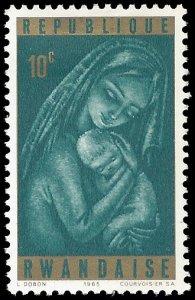 Rwanda 1965 #137 Mint H