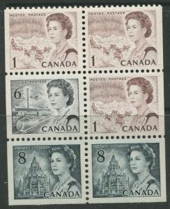 STAMP STATION PERTH Canada #544a Booklet Pane of 6 1971 MNH CV$3.50