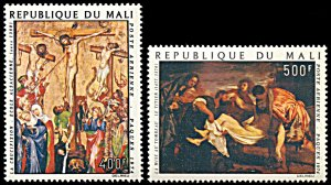 Mali C216-C217, MNH, Easter Paintings