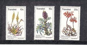 South Africa (Transkei), 24-27, Medicinal Plants Singles,MNH