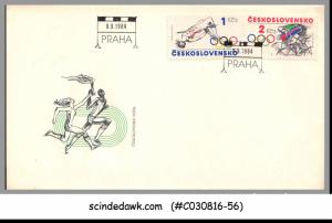 CZECHOSLOVAKIA - 1984 SUMMER OLYMPIC GAMES - FDC
