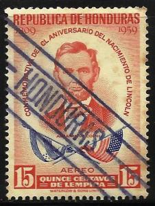 Honduras Air Mail 1959 Scott# C295 Used