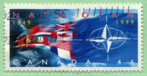 1809 Canada 46c NATO, used