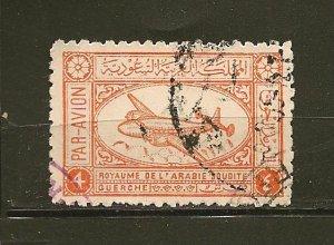 Saudi Arabia C3 Airmail Used