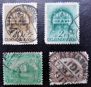 Collection of old stamps (3)