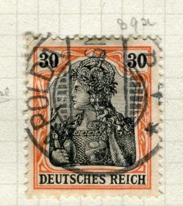GERMANY; 1905 early Deutsches Reich issue fine used 30pf. value, Shade