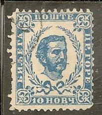 Montenegro   Scott 12  Prince   Used