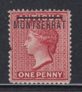Montserrat    #1   mng  (defect)    cat $30.00