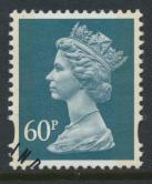 Great Britain SG Y1784 Sc# MH234    Used with first day cancel - Machin 60p