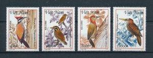[102956] Vietnam 1999 Birds vögel oiseaux woodpecker  MNH