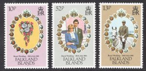 FALKLAND ISLANDS SCOTT 324-326