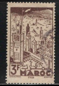 French Morocco Scott 209 Used stamp