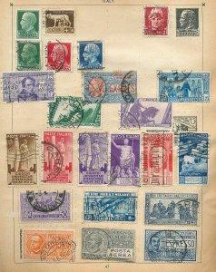 Yugoslavia Italy Hungary Early M&U (Appx 90 Items) (Au 15740