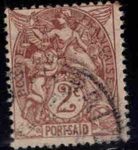Port-Said Scott 19 Used stamp necley centered lightly canceled
