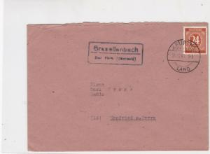 germany 1940s allied occupation stamps cover ref 18679