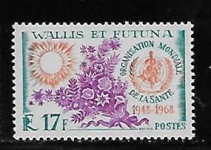 Wallis and Futuna Islands 169 20th WHO single MNH