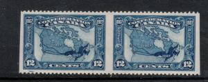 Canada #145b Extra Fine Never Hinged Imperforate Pair
