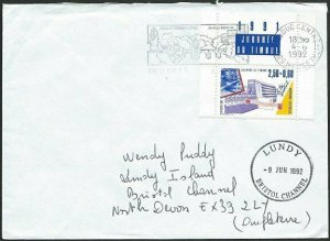 FRANCE TO LUNDY 1992 cover - arrival cds...................................48804