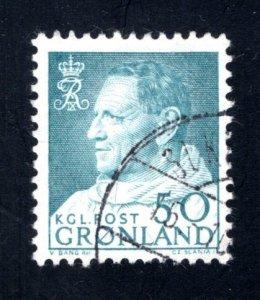Greenland 58,   VF, Used,   CV $10.00 ....2510105
