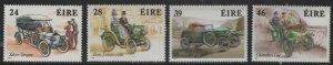 IRELAND 736-739 MNH CLASSIC AUTOMOBILES SET 1989