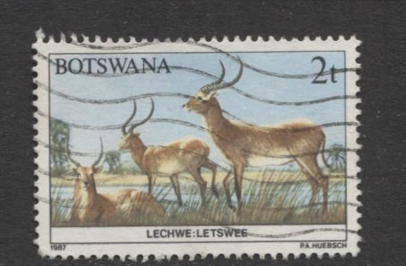 Botswana - Scott 405 - Wildlife Conservation -1987 - VFU - Single 2t Stamp