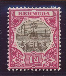 Bermuda Stamp Scott #34, Mint Hinged - Free U.S. Shipping, Free Worldwide Shi...