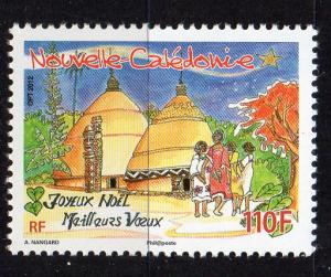 NEW-CALEDONIA - MERRY CHRISTMAS - BEST WISHES - 2012 - 110f -