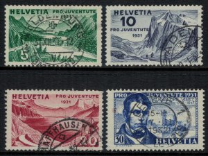 Switzerland #B57-60  CV $22.55
