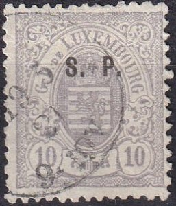 Luxembourg #O47 F-VF  Used  CV $200.00  (Z1206)